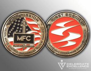 Celebrate Excellence MFC Challenge Coins | San Antonio Texas