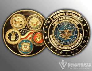 Celebrate Excellence Memorial Detachment Challenge Coins | San Antonio Texas