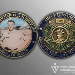 Celebrate Excellence 50th anniversary Challenge Coins | San Antonio Texas