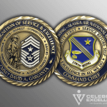 Celebrate Excellence 176th Wing Garganta Alaska ANG Challenge Coins | San Antonio Texas