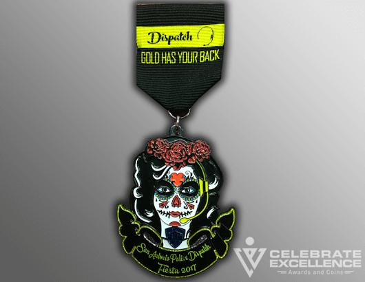 Fiesta medal_SAPD dispatcher