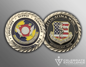 Celebrate Excellence 111th ATKW PA ANG Sommers Challenge Coins   San Antonio Texas