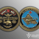 Celebrate Excellence 68th Medical Detachment Challenge Coins | San Antonio Texas