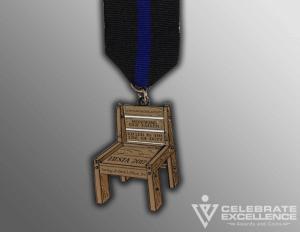 Celebrate Excellence Saving a Heros Place Fiesta Medal | San Antonio Texas