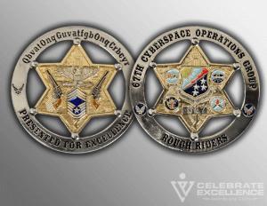 Celebrate Excellence 67 COG Blazier Coins | San Antonio Texas
