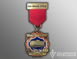 Celebrate Excellence Fiesta Medal SAC 2017 | San Antonio Texas