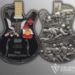 Celebrate Excellence Guitar Coin   San Antonio Texas