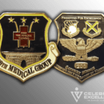 559th Medical Group Air Force Challenge coin