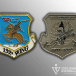 Air National Guard Challenge Coin wing
