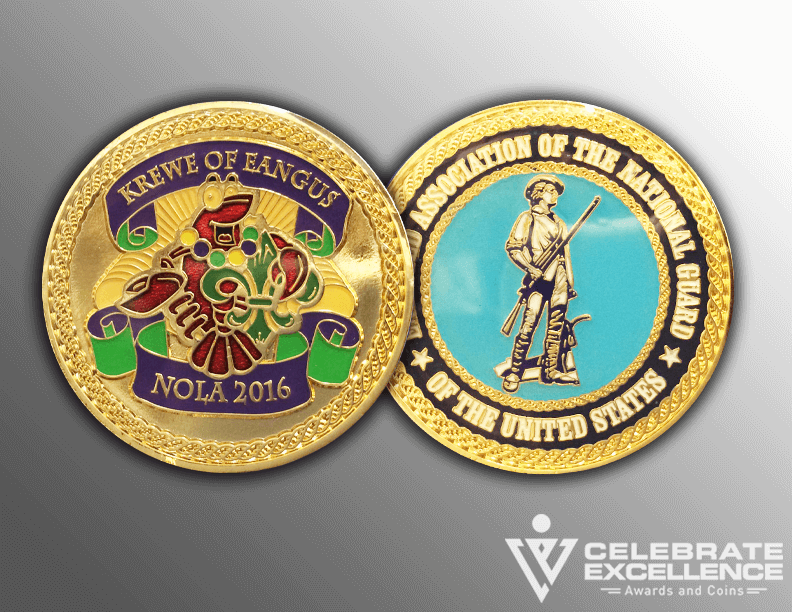 How to order a custom challenge coin - Celebrate Excellence