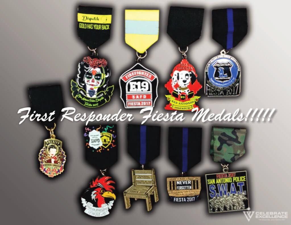 First Responder Fiesta Medals