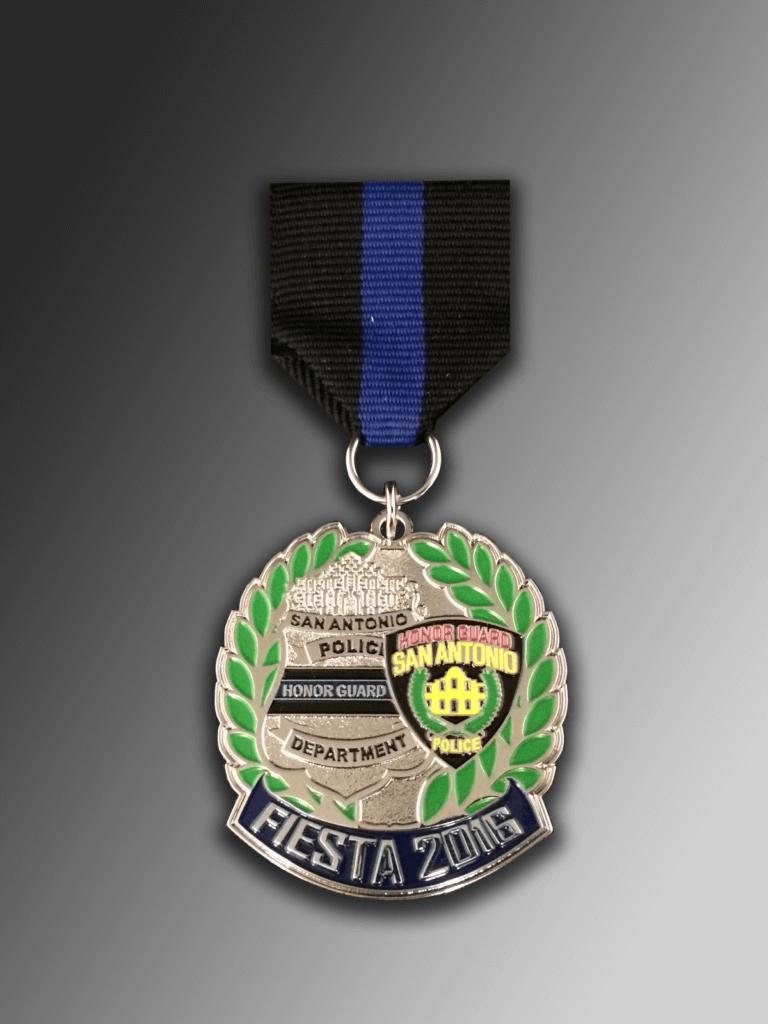 Sapd Fiesta Medals Award Winning Sa Police Fiesta Medals