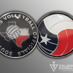 SOUTH PLAINS VOLLEY BALL CHALLENGE COIN