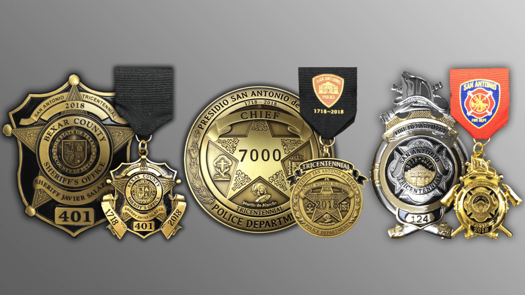 Award Winning Fiesta Medals 2018 Made by Celebrate Excellence