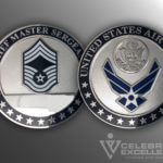 United Air force Coin