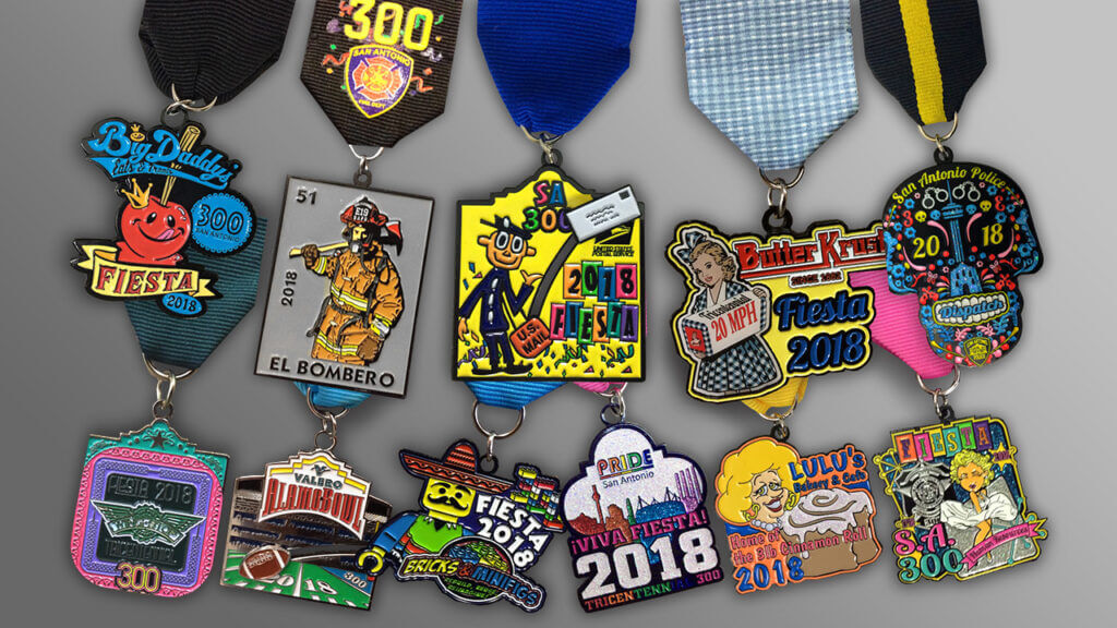 Fiesta Medals Form 2018