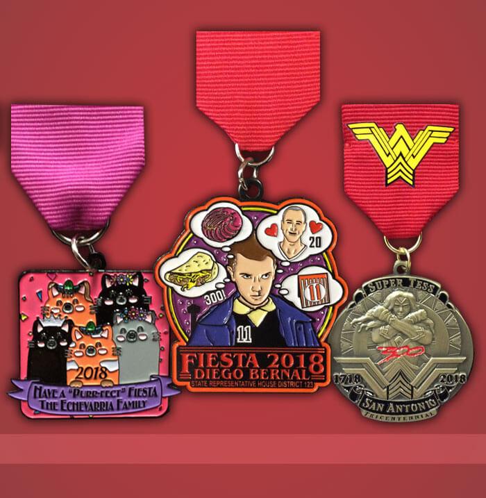 Personal Fiesta Medals