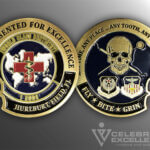 Celebrate Excellence 1 SODS Challenge Coin