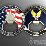 Celebrate Excellence 116th Congress Legislative Fellows Challenge Coin