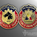 Celebrate Excellence 127th ASB Challenge Coin