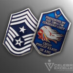 Celebrate Excellence 138th Command Chief Challenge Coin