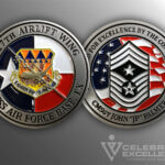 Celebrate Excellence 317th Airlift Wing Dyess AFB Challenge Coin