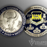 Celebrate Excellence 332d Civil Engineer Squadron Challenge Coin