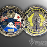 Celebrate Excellence 36th Communications Sq Challenge Coin