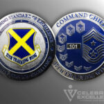 Celebrate Excellence 37th Training Wing Challenge Coin