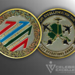 Celebrate Excellence 3rd Operations Group Challenge Coin