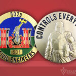 502d Civil Engineers Challenge Coin
