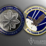 Celebrate Excellence 59th Training Squadron Challenge Coin