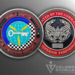 Celebrate Excellence 67th Operations Support Sq Challenge Coin