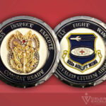 Celebrate Excellence 932D Airlift Wing Challenge Coin