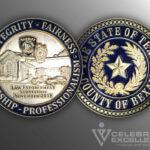 Celebrate Excellence Bexar Substation November 2018 Challenge Coin