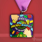 Celebrate Excellence Bricks & Minifigs San Antonio Fiesta Medal