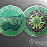 Celebrate Excellence Connected Architecture Solutions Challenge Coin