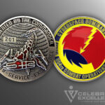 Celebrate Excellence Cyberspace Dominance 854th Combat Operations Challenge Coin