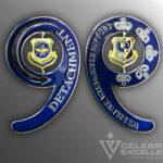 Celebrate Excellence Detachment 9 Challenge Coin
