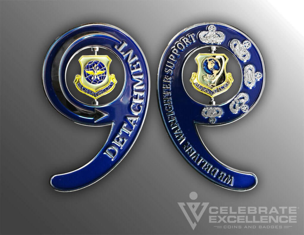 Celebrate Excellence Detachment 9 Challenge Coin