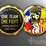 Celebrate Excellence Emergency Medical Task Force Challenge Coin