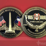 Celebrate Excellence Fire & Iron Station 65 Challenge Coin