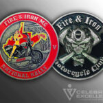 Celebrate Excellence Fire and Iron Challenge Coin