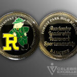 Celebrate Excellence Forest Park High School Challenge Coin