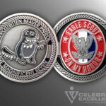 Celebrate Excellence Frostbitten Beaver Patrol Eagle Scout Challenge Coin