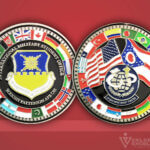 Celebrate Excellence International Military Student Office - Wright Patterson AFB Challenge Coin