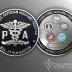 Celebrate Excellence JBSA Ft. Sam Housten PA Challenge Coin