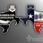 Celebrate Excellence JBSA Top 3 Challenge Coin