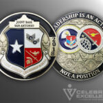 Celebrate Excellence Joint Base San Antonio Leadership Challenge Coin