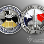 Celebrate Excellence Lockheed Martin Fort Worth F-35 Build Team Challenge Coin